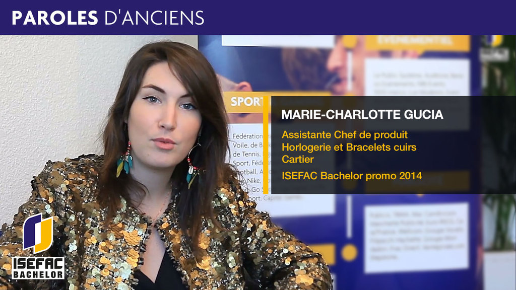 Isefac bachelor anciens marie charlotte gucia